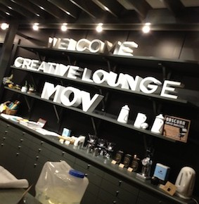 "visiting co-working space ""MOV"" in Shibuya"