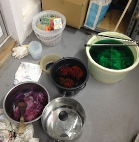 RWS CraftNight: Dyeing!