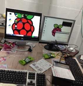 Raspberry Night開催。