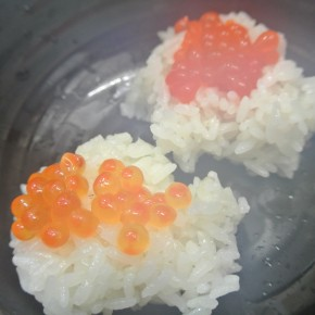 Gastronomy Night Vol.1  Today's Menu is SALMON ROE