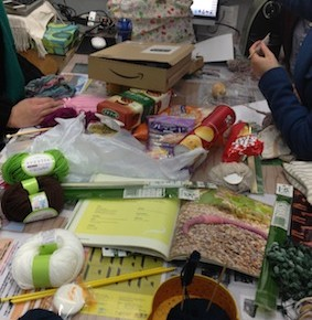 【Craft Night】Knitting!!