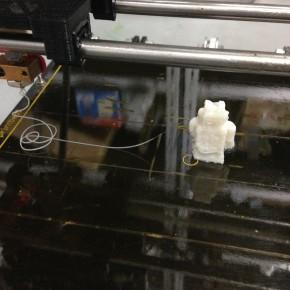 3Dプリンタ修理の報告