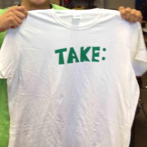 シルクスクリーンでTシャツ作りのお誘い!